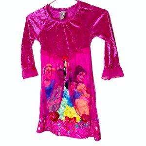 NWOT Disney Princess Girls Sleeping Dress 6